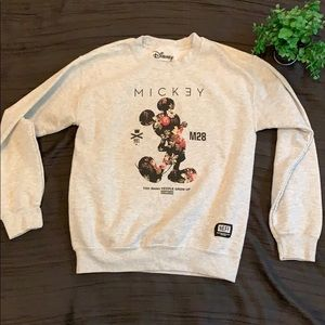 Floral Mickey Mouse Neff Crewneck